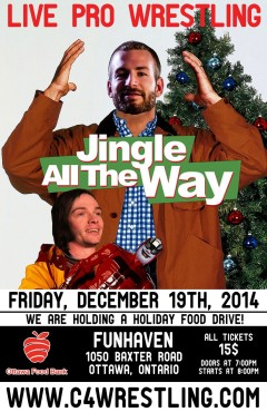 "C*4 presents ""JINGLE ALL THE WAY"""