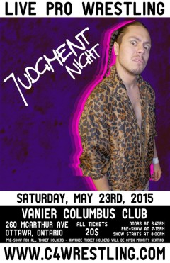 Saturday May 23, 2015 Ottawa, Ontario